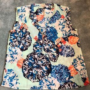 JCrew blouse tank